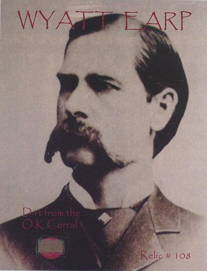 Todd Mueller Relic Card 108 - Wyatt Earp
