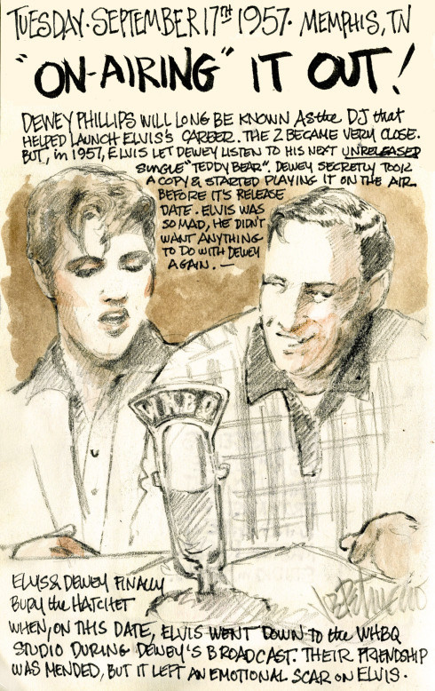 THIS DAY IN ELVIS HISTORY... ON-AIRING IT OUT!