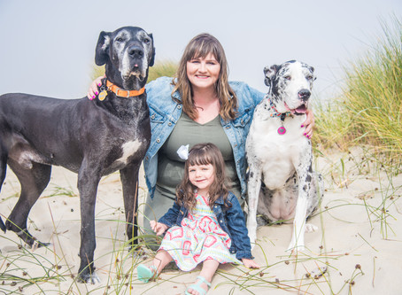 Beach Family Session ~ Heceta Beach, Florence OR