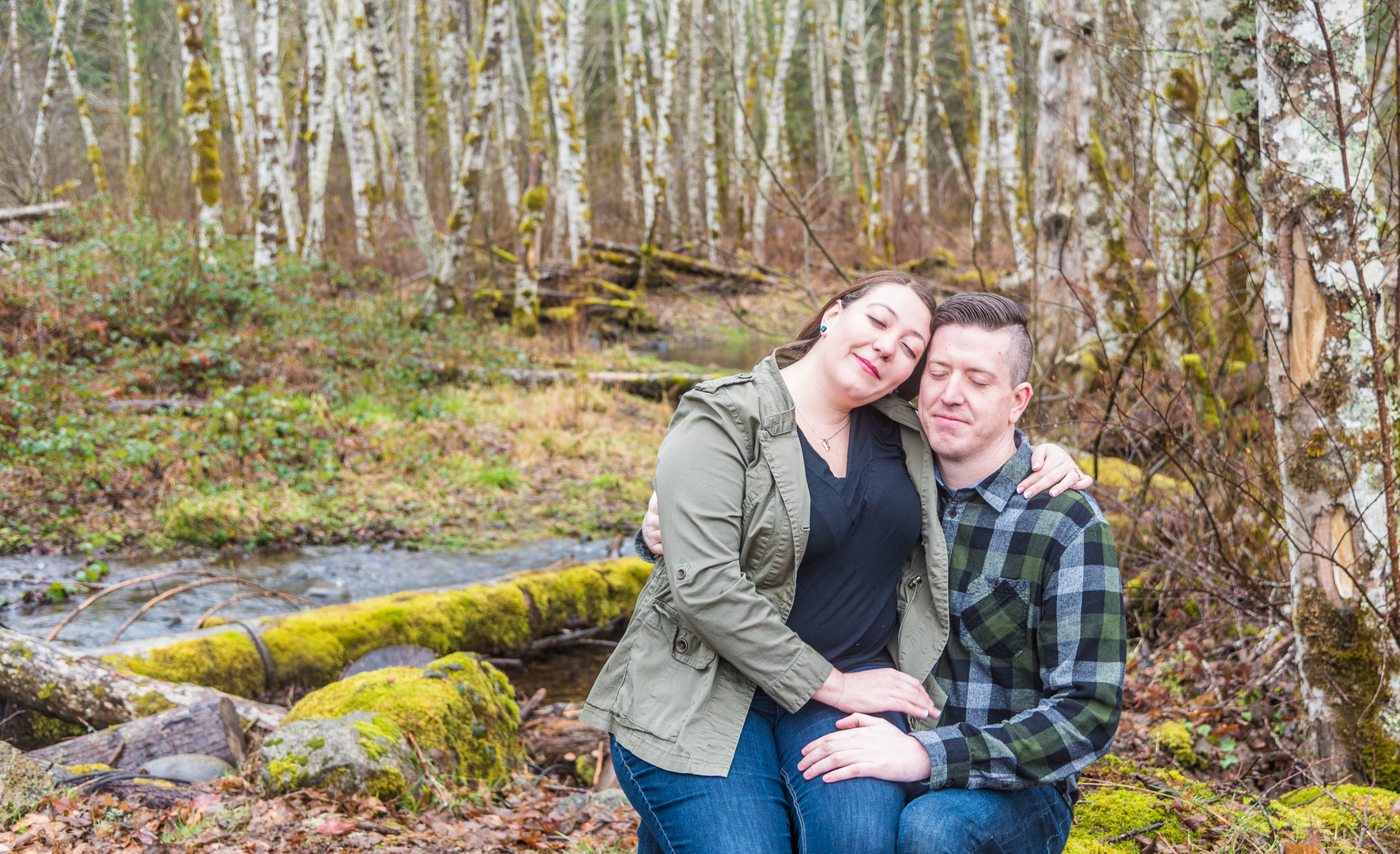 couple portrait at Resort at the Mountain
