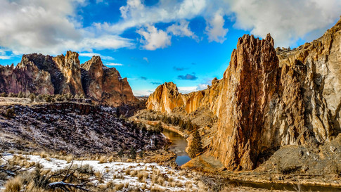Smith Rock in Bend