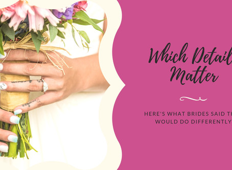 10 Things Brides Would Do Differently