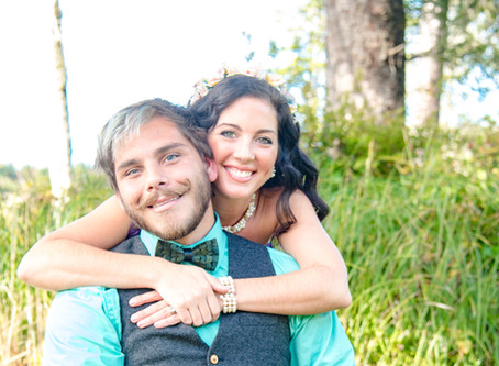 Bridal Shoot ~ Stacie & Derrick ~ Cleawox Lake, Florence OR
