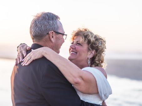 Sunset Beach Wedding ~ Donna & Terry ~ Waldport OR