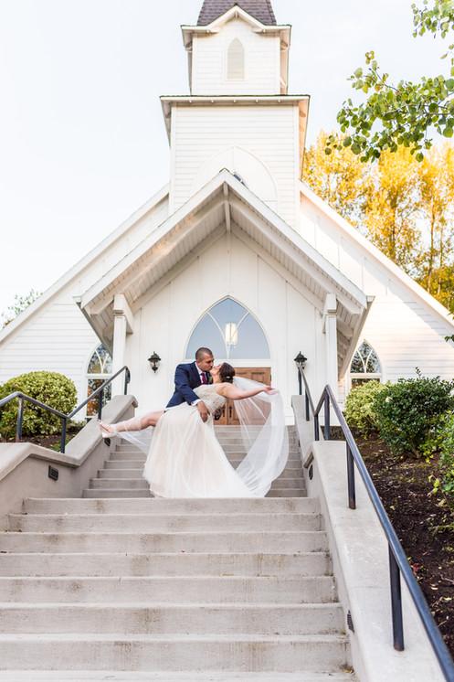 Abernathy Center wedding