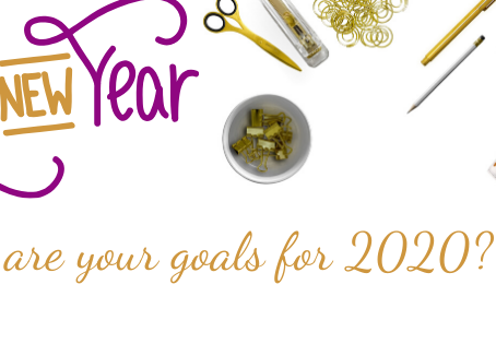 New Year! New Goals! It is 2020!