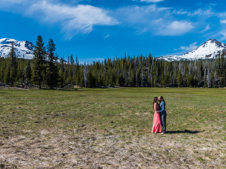 Engagement Session ~ Audrey & Sean ~ Bend OR