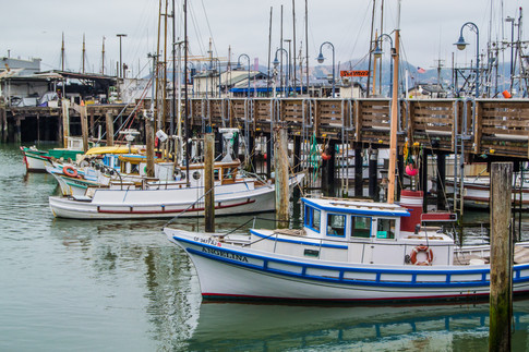 Boats in San Francisco