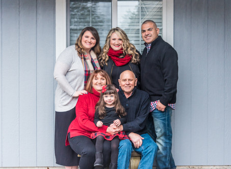 West Family Holiday Session ~ Florence OR