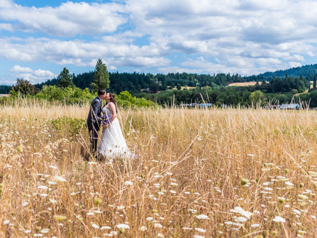 Rogers Wedding ~ Christina & Scott ~ The Water Oasis, Newberg OR
