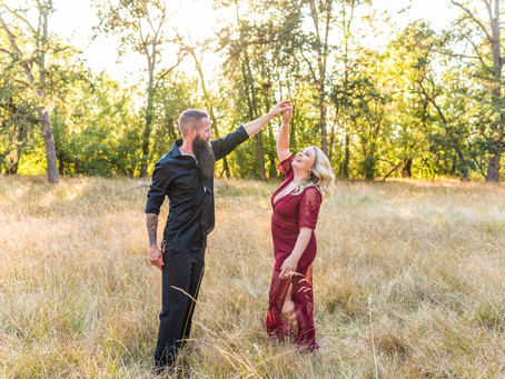 Mt. Pisgah Engagement Session ~ Eugene OR