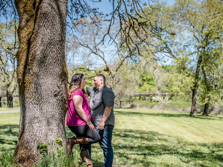 Engagement Session ~ Jenna & Marcus ~ Roseburg Rod & Gun Club, Roseburg OR