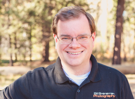Professional Portrait Spotlight For Excellent Guy Friend ~ Bend, OR