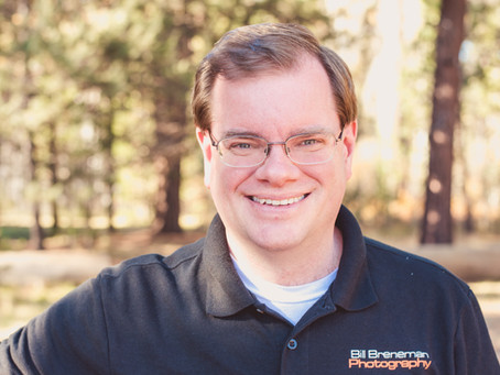 Professional Portrait Spotlight For Excellent Guy Friend ~ Bend, OR