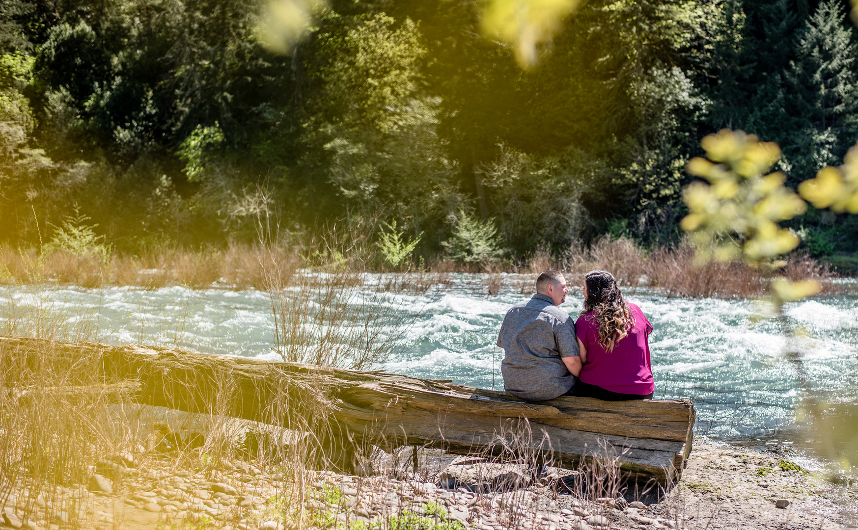 Couple at Umpqua River