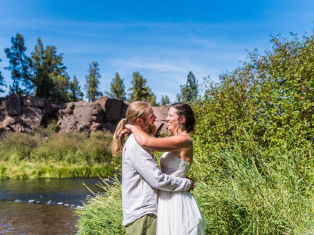 Narby Wedding ~ Audrey & Sean ~ Tumalo State Park, Bend OR