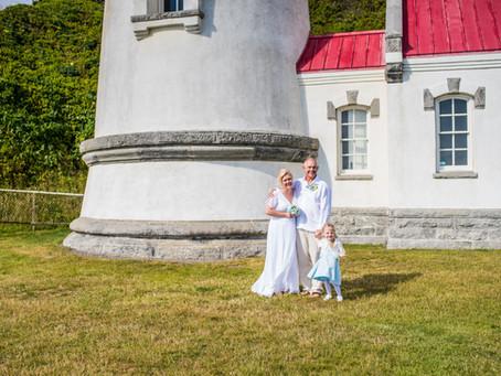 Seymour Wedding ~ Danna & Michael ~ Heceta Head Lighthouse, Florence OR