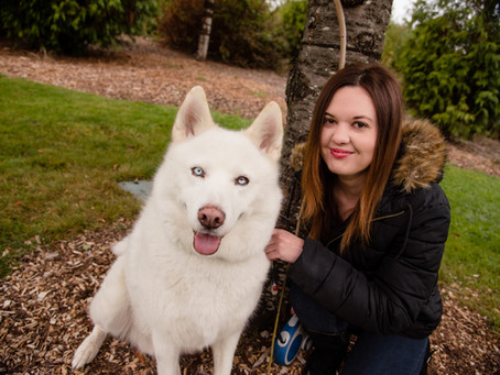 Portfolio Spotlight With An Attractive Girl And Her Stunning Dog! ~ Hillsboro, OR