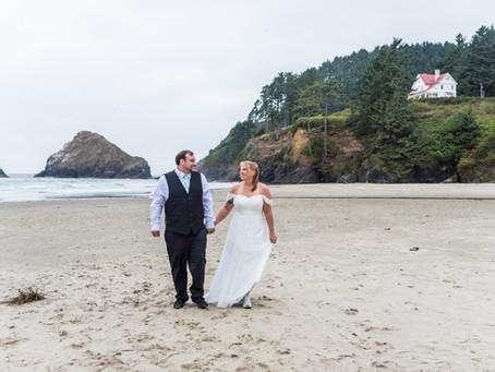 Beautiful Oregon Coast Wedding ~ Shana & Alex ~ Heceta Head Bed & Breakfast, Florence Oregon