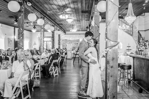 Troutdale House first dance