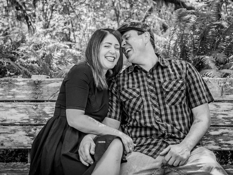 Engagement Session ~ Lindsay & Jeremy ~ Sweet Creek Falls, Florence OR