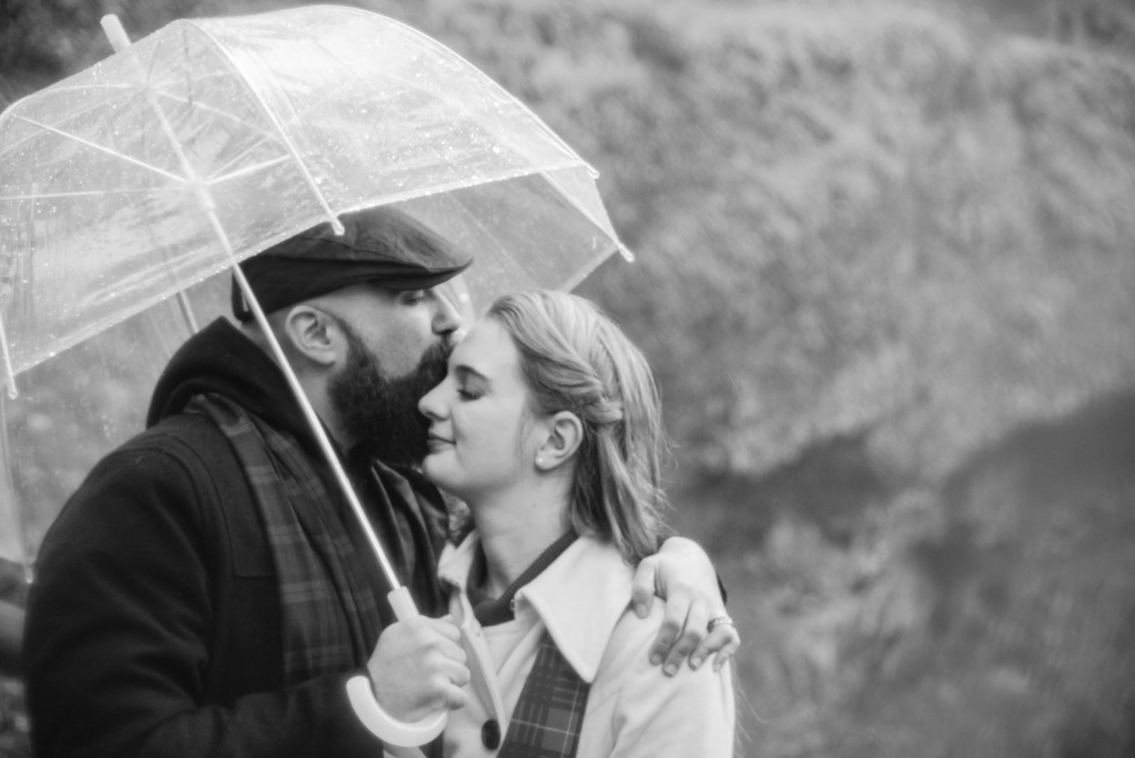 Couple at Silver Falls
