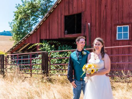 Carpenter Wedding ~ Adrian & Josh ~ Drain OR