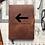 Thumbnail: Custom Order Ernie L 20200609 - Metric Cut - Refillable Leather