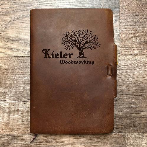 Custom Order Scott K - Classic Cut - Refillable Leather Journal 20201202