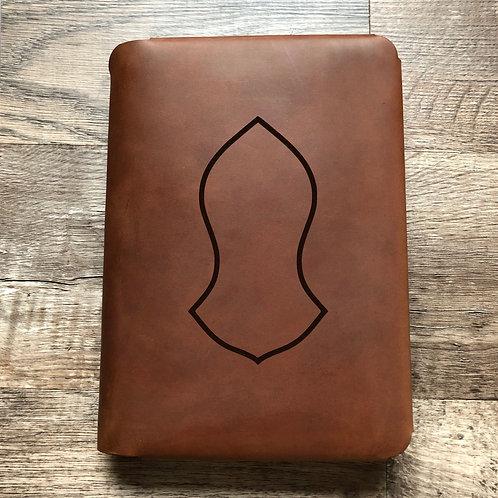 Custom Order Asif M - Travel Cut - Refillable Leather Folio 20200623
