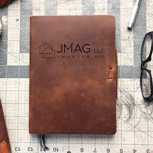 Custom Order Joe K - Metric Cut - Refillable Leather Journal 20201130