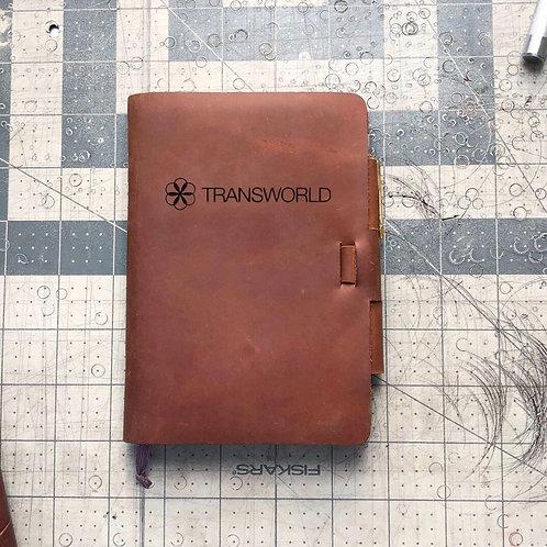 Custom Order Kayla S - Mini Cut - Refillable Leather Journal 20201125