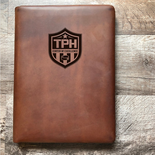 Custom Order Jared B - Executive Cut - Refillable Leather Folio 20200921