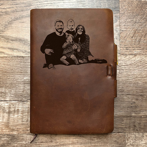 Custom Order Zachary I - Classic Cut - Refillable Leather Journal 20201204