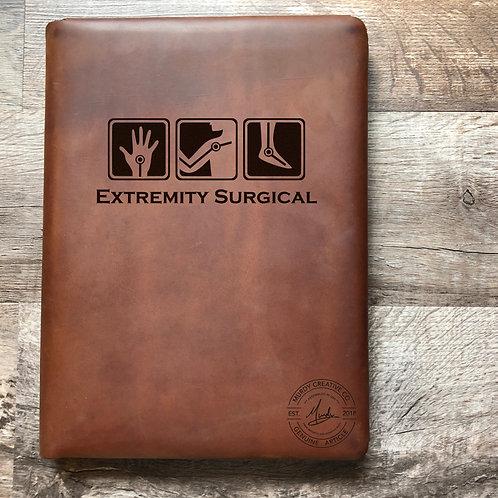 Custom Order Zachery K - Executive Cut - Refillable Leather Folio 20201009