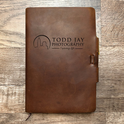 Custom Order Todd J - Classic Cut - Refillable Leather Journal 20201119
