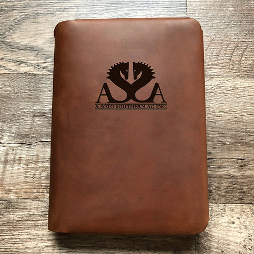Custom Order Adrian S - Travel Cut - Refillable Leather Folio 20210209