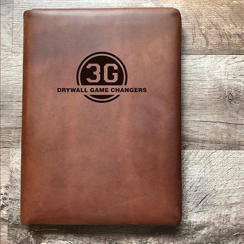 Custom Order Ray G - Executive Cut - Refillable Leather Folio 20210128