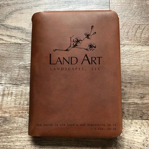 Custom Order James L - Travel Cut - Refillable Leather Folio 20201209