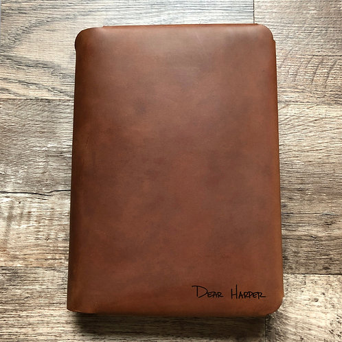 Custom Order Nick G - Travel Cut - Refillable Leather Folio 20200820