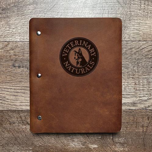 Custom Order Gary N - Slim Cut - Refillable Leather Binder 20201221 2
