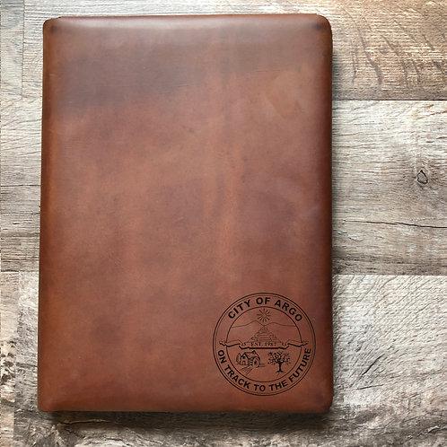 Custom Order Bethany W - Executive Cut - Refillable Leather Folio 20201207