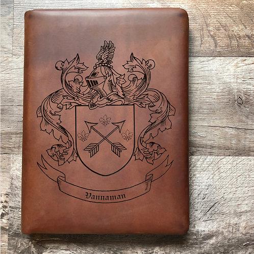 Custom Order Kurt V - Executive Cut - Refillable Leather Folio 20201013