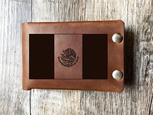 Custom Order Eric S - American Flag Leather Wallet 20201027
