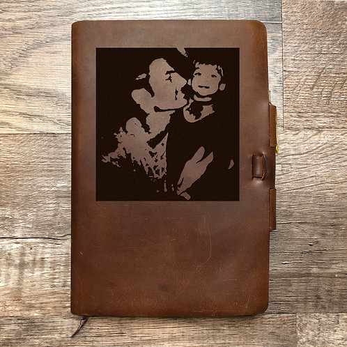 Custom Order Brent B - Classic Cut - Refillable Leather Journal 20201123