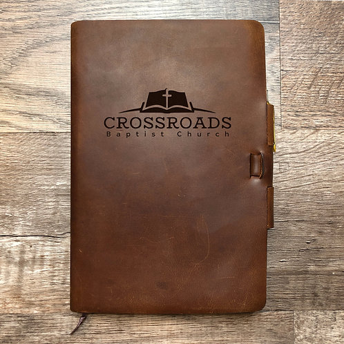 Custom Order Jeffrey L - Classic Cut - Refillable Leather Journal 20210119