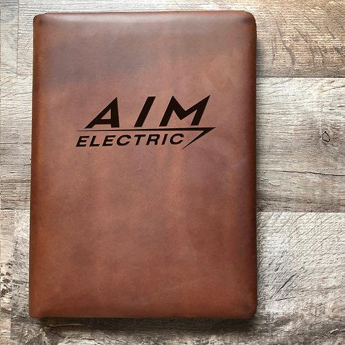 Custom Order Elizabeth R - Executive Cut - Refillable Leather Folio 20201218
