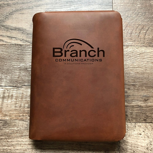 Custom Order Lyn S - Travel Cut - Refillable Leather Folio 20210208