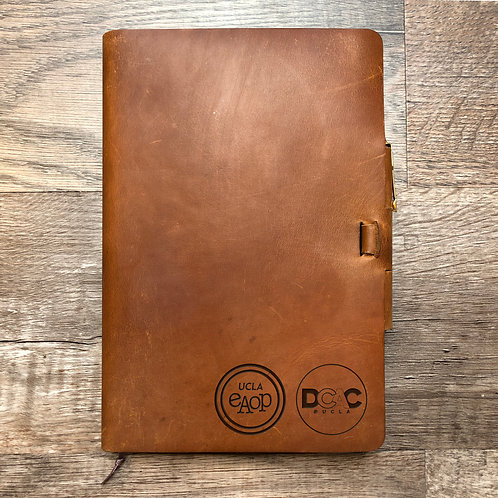 Custom Order Nada M - Classic Cut - Refillable Leather Journal 20210209
