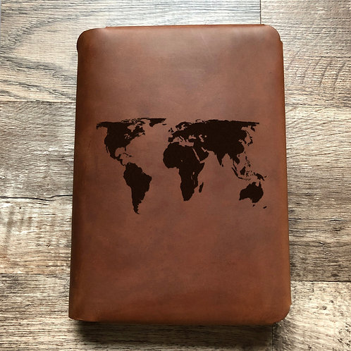 Custom Order Dan S - Travel Cut - Refillable Leather Folio 20200807